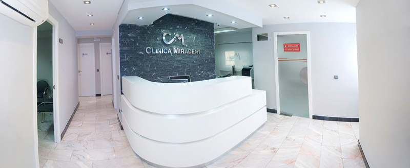 clinica miradent recepcion