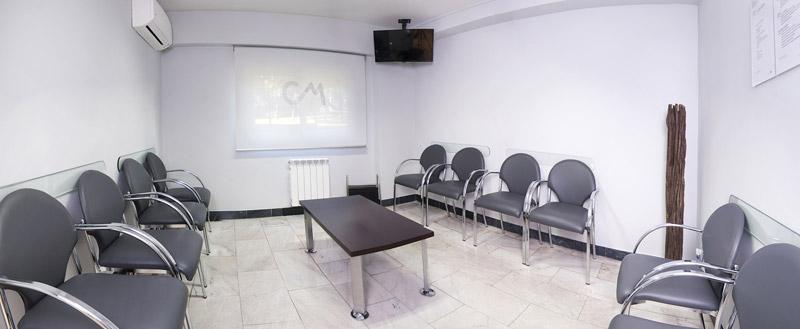 clinica miradent sala espera